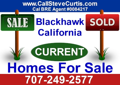 Homes for sale in Blackhawk, Ca