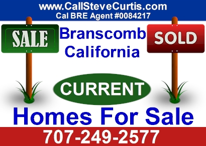 Homes for sale in Branscomb, Ca