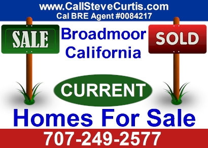 Homes for sale in Broadmoor, Ca