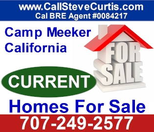 Homes for sale in Camp Meeker, Ca