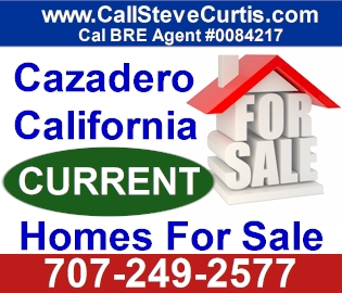 Homes for sale in Cazadero, Ca