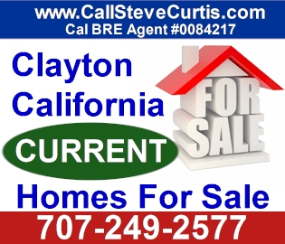 Homes for sale in Clayton, Ca