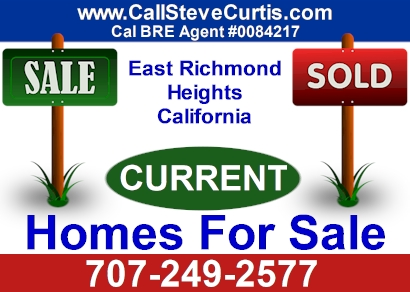 Homes for sale in East Richmond Heights, Ca