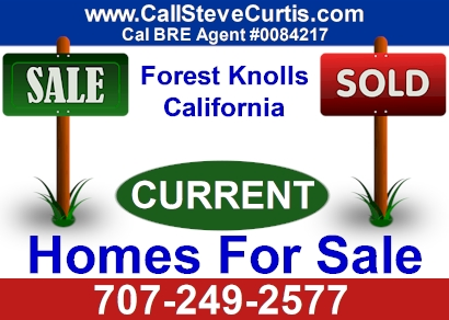 Homes for sale in Forest Knolls, Ca
