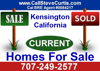 Homes for sale in Kensington, Ca