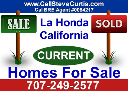 Homes for sale in La Honda, Ca