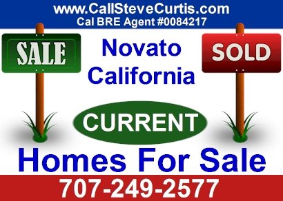 Homes for sale in Novato, Ca