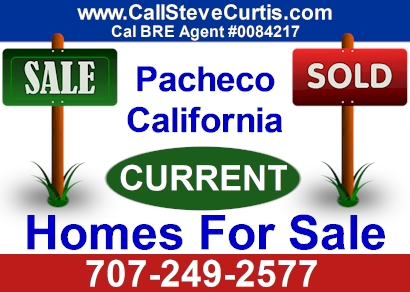 Homes for sale in Pacheco, Ca