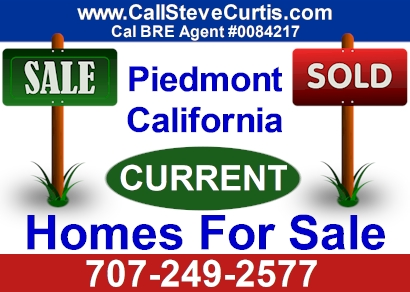 Homes for sale in Piedmont, Ca
