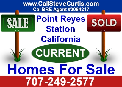 Homes for sale in Point Reyes Station, Ca