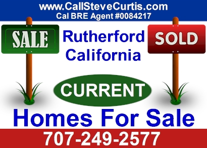 Homes for sale in Rutherford, Ca
