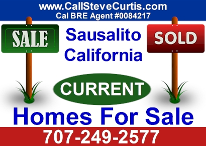 Homes for sale in Sausalito, Ca