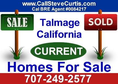 Homes for sale in Talmage, Ca