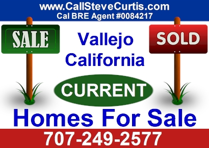 Search current homes for sale in Vallejo, Ca