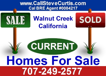 Homes for sale in Walnut Creek, Ca